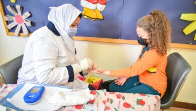 صورة انخفاض حالات الاصابة بمرض الكورونا في مصر