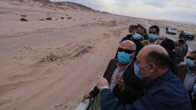 صورة شبكة نقل ضخمة فى صعيد مصر تساهم في تسهيل تنقل المواطنين وحركة التجارة بين المحافظات