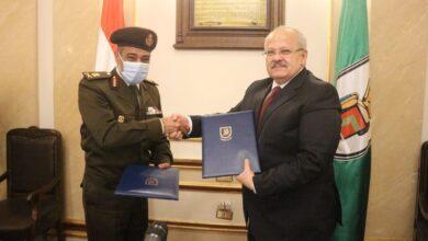 صورة القوات المسلحة توقع بروتوكول تعاون مع جامعة القاهرة فى مجال تطوير البحث العلمى