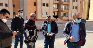صورة عادل النجار ، يطالب قاطني وحدات مشروع الإسكان الاجتماعي بعدم مخالفة شروط التعاقد،