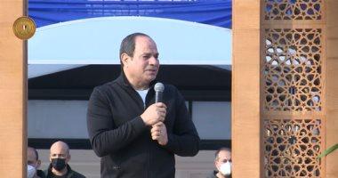 صورة رئيس مجلس الشيوخ  يهنئ الرئيس السيسي بذكرى عودة طابا