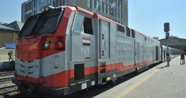 صورة السكة الحديد تبدأ اليوم طــرح مقاعد قطارات العيد الإضافية للحجز