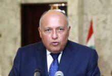صورة وزير الخارجية يبحث مع نظيره الأردنى سُبل إنهاء الأزمة بين الفلسطينيين والاسرائيليين